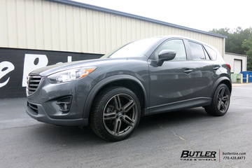 Mazda CX-5 with 20in Vossen HF-2 Wheels