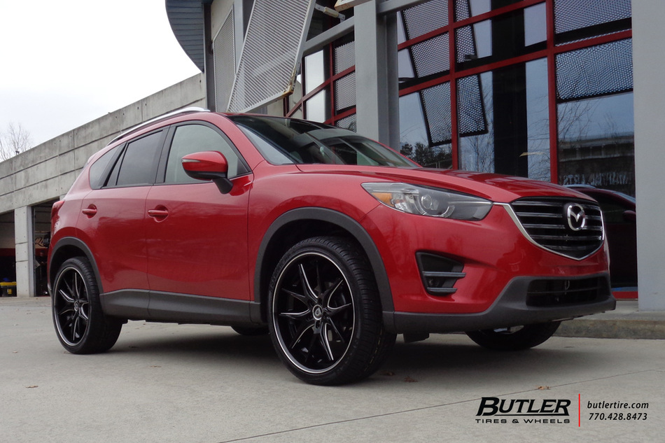 Mazda Cx5 With 22in Lexani R Twelve Wheels Exclusively