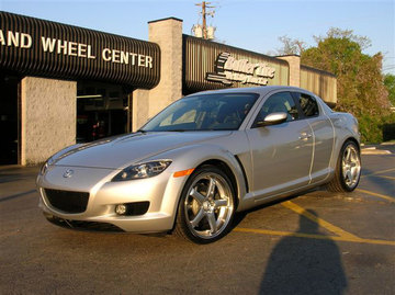 Mazda RX8 with 19in Axis Hiro Wheels