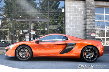 McLaren 570S with 21in Vorsteiner V-FF 103 Wheels