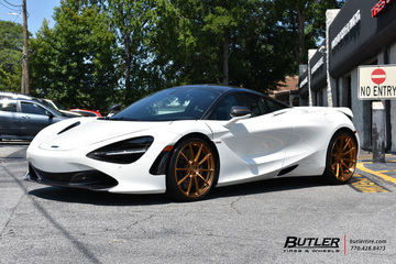 McLaren 720s with 21in Avant Garde AGL31 Wheels