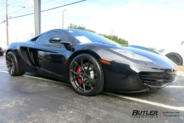 McLaren MP4-12C with 21in Vorsteiner V-FF 103 Wheels
