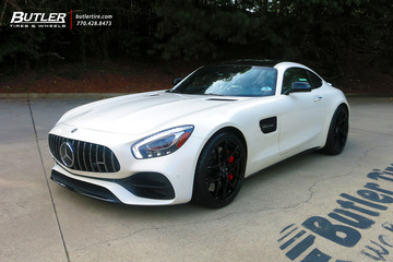 Mercedes AMG GTC with 21in Savini SV-F5 Wheels