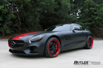 Mercedes AMG GTS with 21in Savini BM12-L Wheels