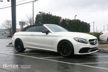 Mercedes C-Class with 20in Forgiato Drea-M Wheels