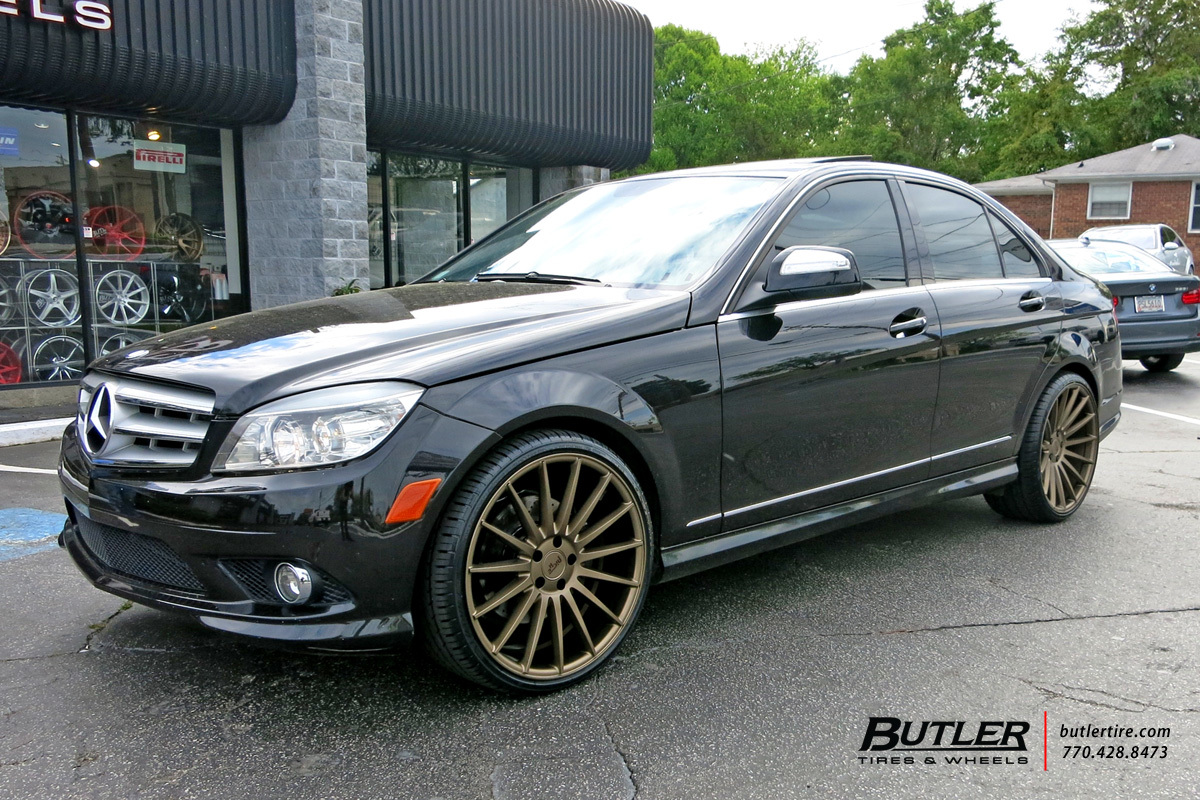 Mercedes C-Class with 20in Niche Form Wheels exclusively from ...