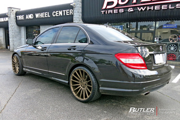Mercedes C-Class with 20in Niche Form Wheels