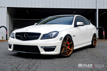 Mercedes C-Class with 20in Savini BM10 Wheels
