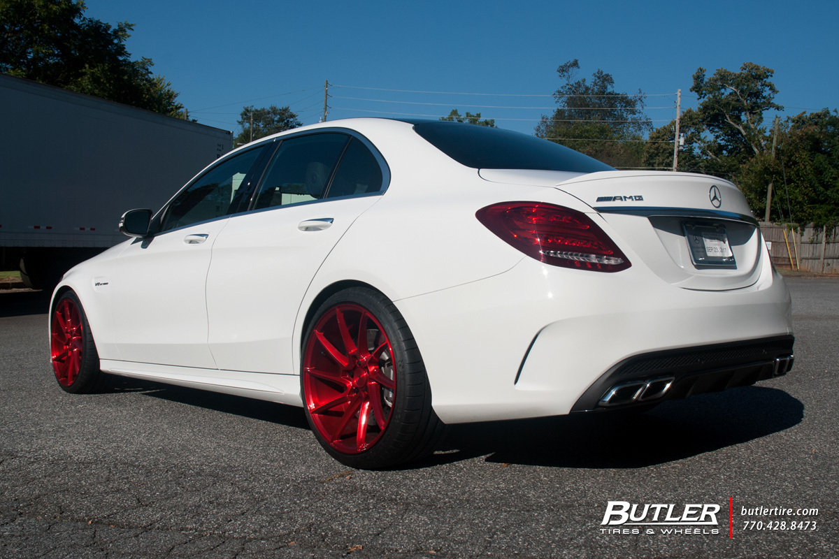 Mercedes C-Class with 20in Savini BM15 Wheels