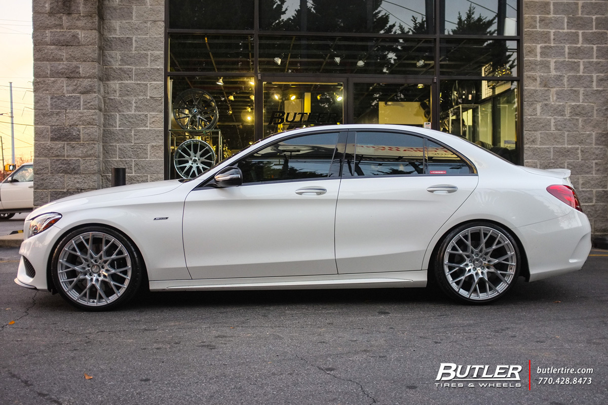 Mercedes C Class With 20in Tsw Sebring Wheels Exclusively