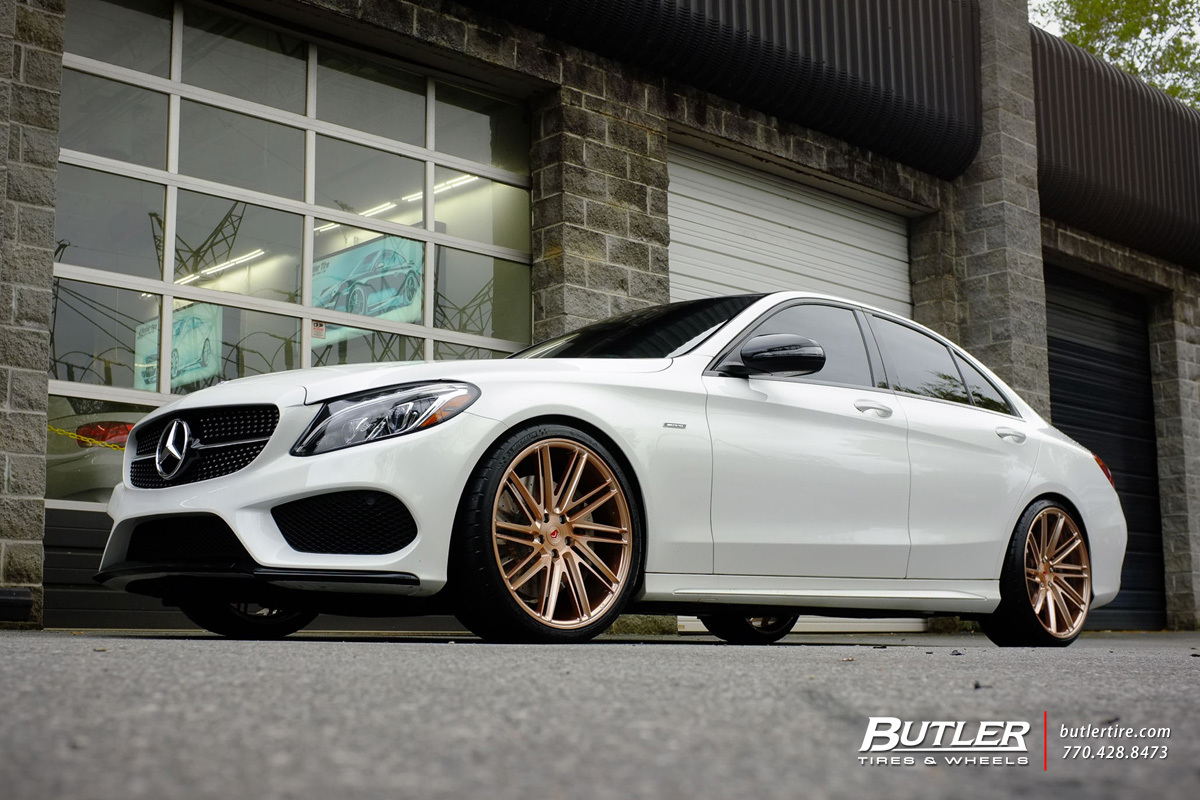 Mercedes Benz Of Buckhead >> Mercedes C-Class with 20in Vossen VPS-307T Wheels ...