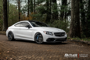 Mercedes C-Class with 21in Vossen M-X6 Wheels