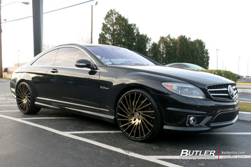 Mercedes CL-Class with 20in Lexani Wraith Wheels