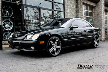 Mercedes CL-Class with 20in Mandrus Estrella Wheels