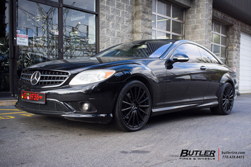 Mercedes CL-Class with 20in Mandrus Rotec Wheels