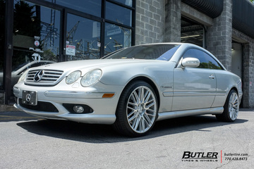 Mercedes CL-Class with 20in Savini BM13 Wheels