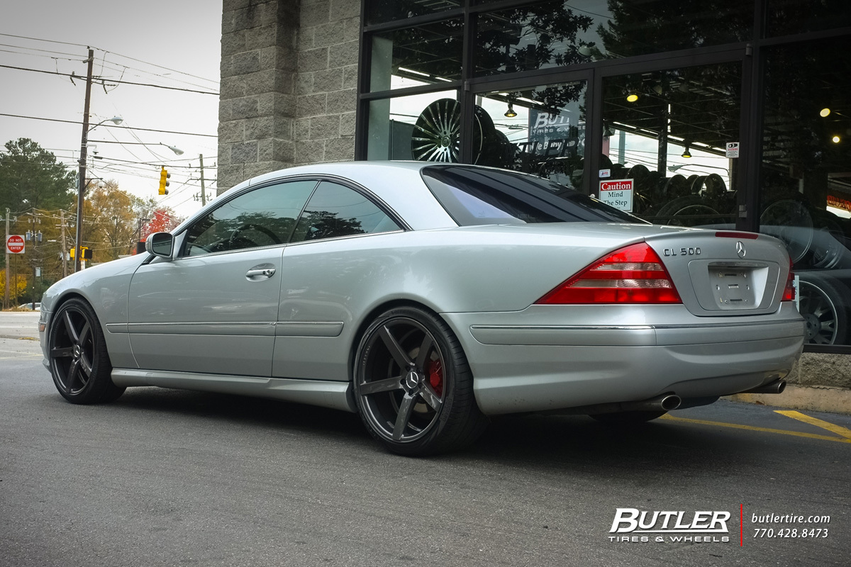 Mercedes CL-Class with 20in Vossen CV3-R Wheels