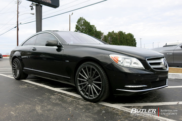 Mercedes CL-Class with 20in Vossen VFS Wheels