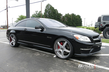 Mercedes CL-Class with 22in Forgiato Aggio ECL Wheels