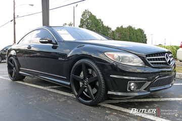 Mercedes CL-Class with 22in Savini BM11 Wheels