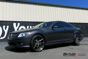 Mercedes CL-Class with 22in Savini BM14 Wheels