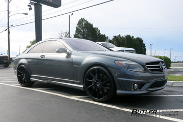 Mercedes CL-Class with 22in Savini BM15 Wheels