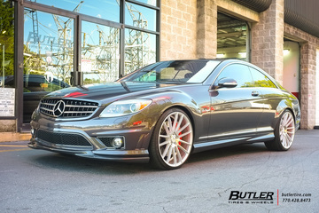 Mercedes CL-Class with 22in Savini BM9 Wheels