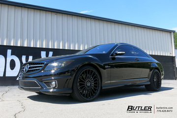 Mercedes CL-Class with 22in TSW Turbina Wheels
