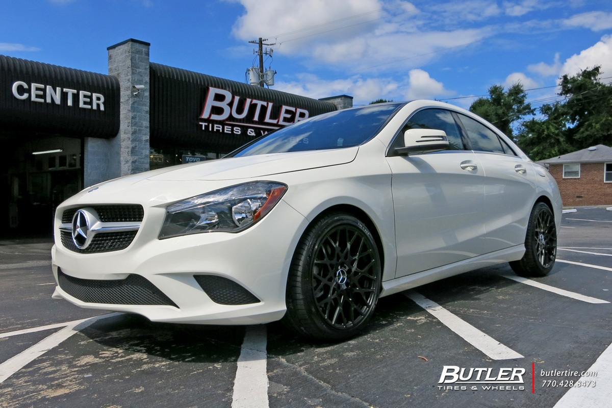 Mercedes CLA with 18in TSW Vale Wheels