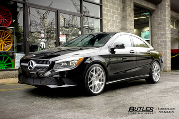 Mercedes CLA with 19in Avant Garde M590 Wheels