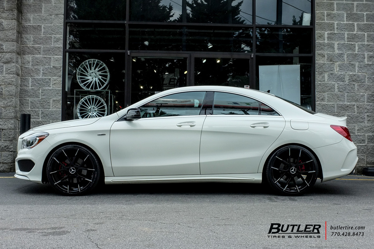 mercedes cla   lexani stuttgart wheels exclusively  butler tires  wheels