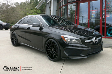 Mercedes CLA with 20in Savini BM16 Wheels