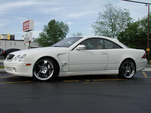 Mercedes CL-Class with 20in Lorinser LM5 Wheels