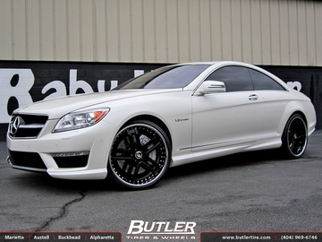 Mercedes CL-Class with 22in Forgiato Estremo Wheels