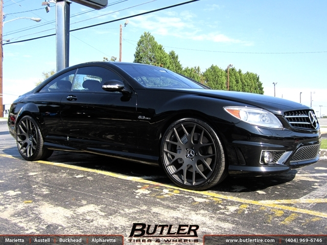 Mercedes CL-Class with 22in Mint M100 Wheels