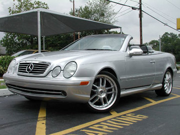 Mercedes CLK with 19in Axis NEO Wheels