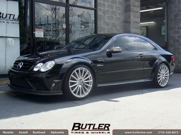 Mercedes CLK with 20in Mandrus Rotec Wheels