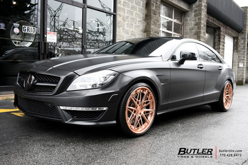 Mercedes CLS` with 20in AG Luxury F538 Wheels