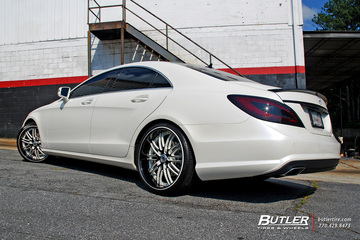 Mercedes CLS with 20in Asanti AF504 Wheels
