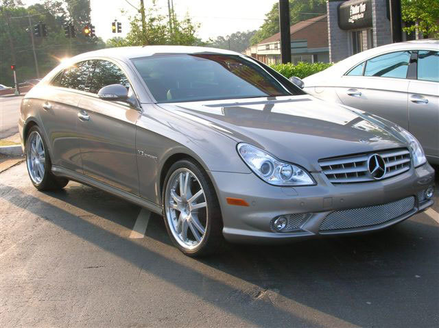 Mercedes CLS with 20in Azev Type PS Wheels