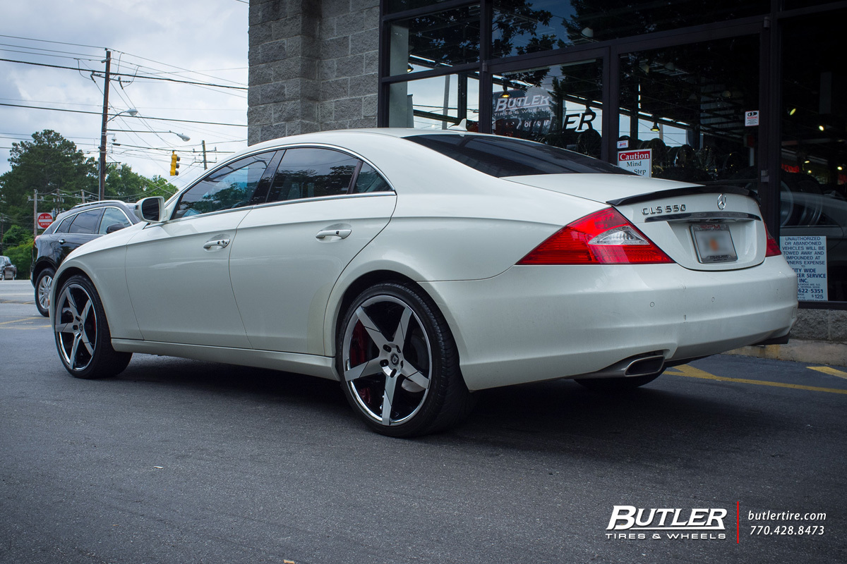 Mercedes CLS with 20in Lexani Invictus Wheels