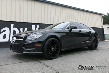 Mercedes CLS with 20in Mandrus 23 Wheels