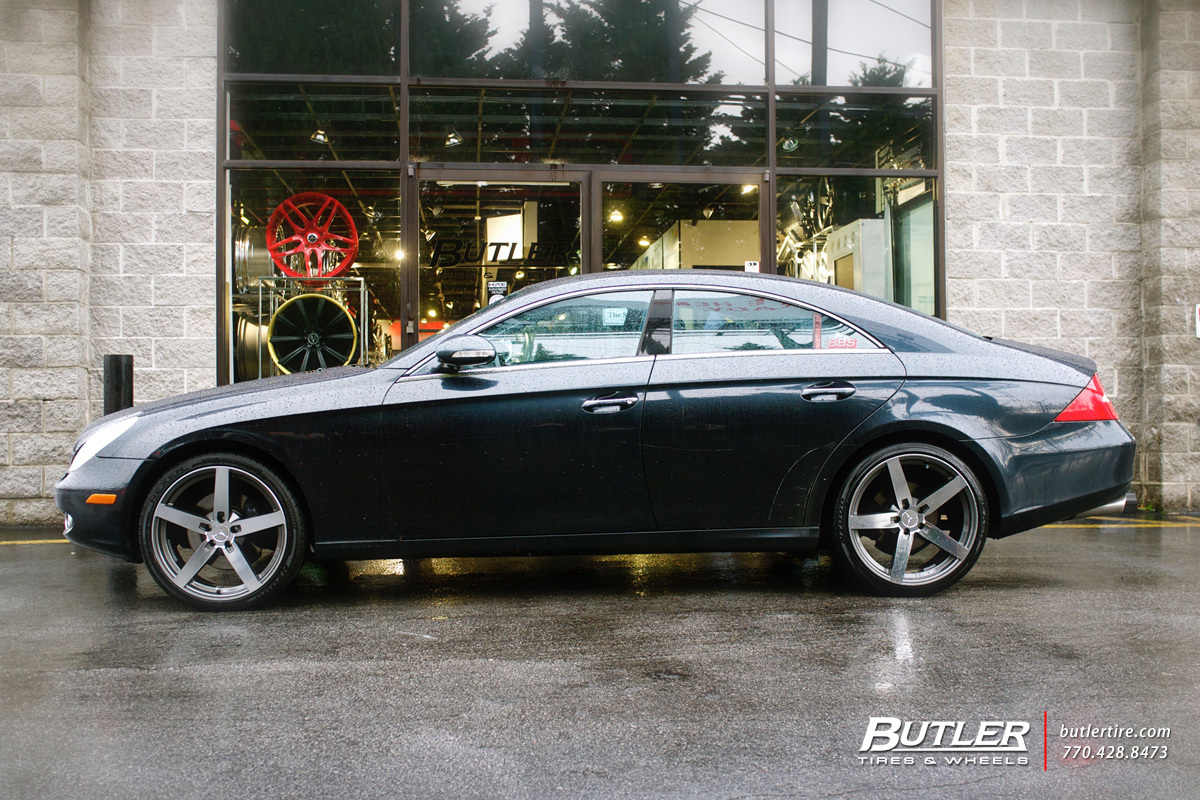 Mercedes CLS with 20in Mandrus Arrow Wheels