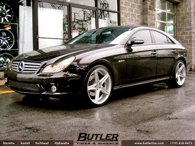 Mercedes Cls With 20in Niche Apex Wheels Exclusively From