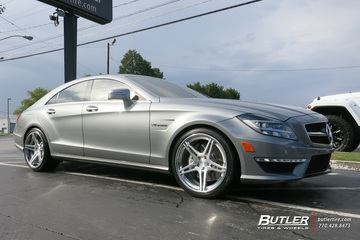 Mercedes CLS with 20in Niche Sportiva Wheels