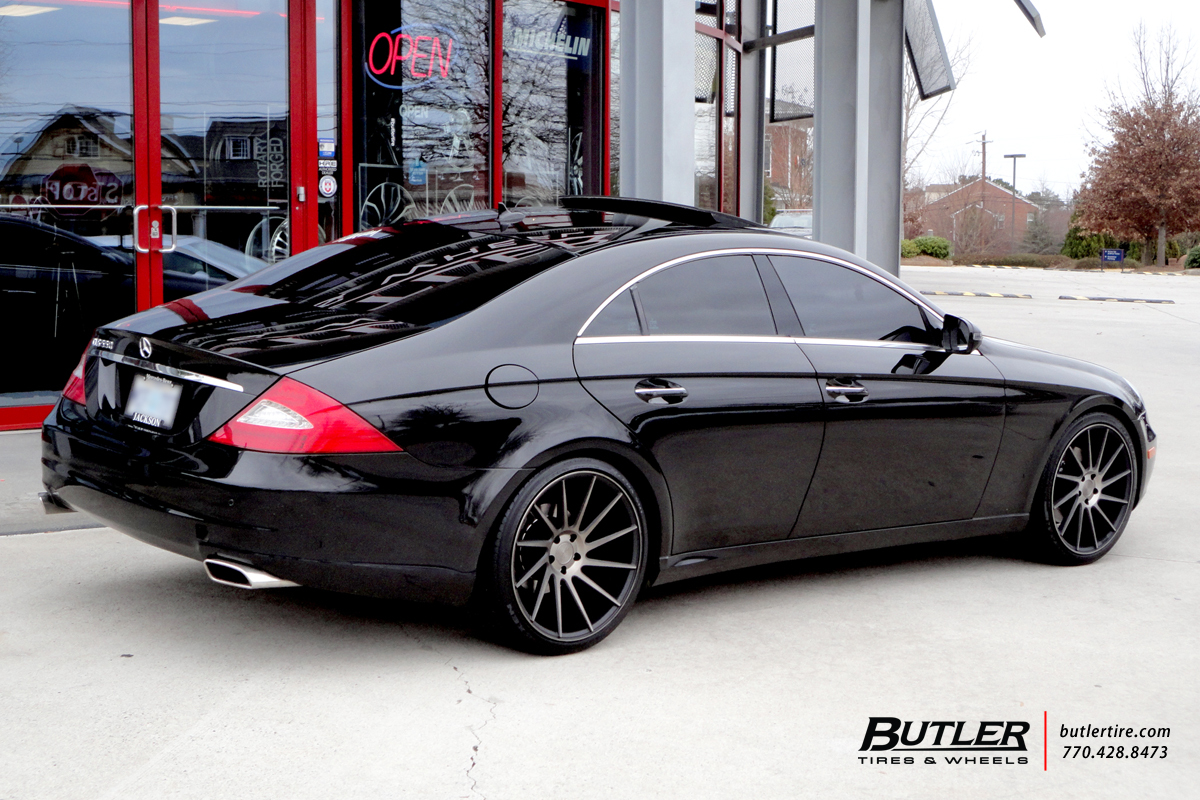 Mercedes CLS with 20in Niche Surge Wheels