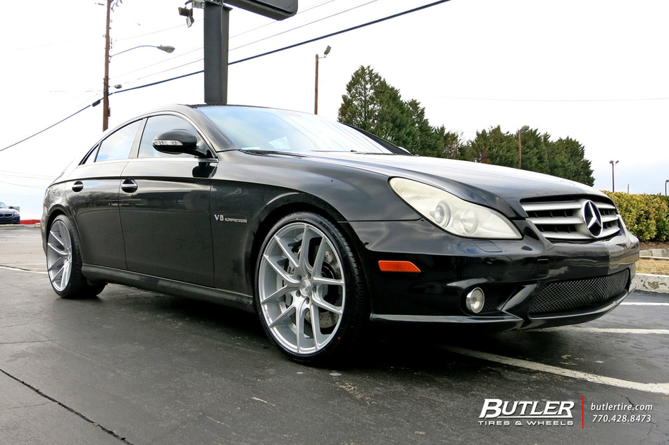 Mercedes Cls With 20in Niche Targa Wheels Exclusively From