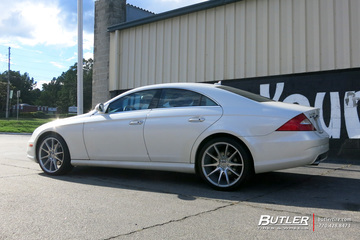 Mercedes CLS with 20in Savini BM12 Wheels