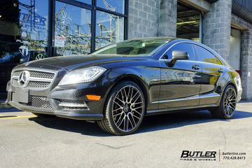 Mercedes CLS with 20in Savini BM13 Wheels
