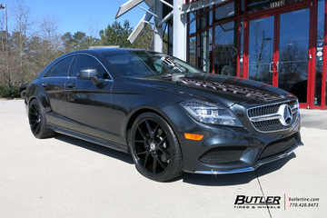 Mercedes CLS with 20in Savini BM14 Wheels